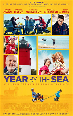 Year by The Sea   Dir. Alexander Janko. Starring: Karen Allen, Yannick Bisson