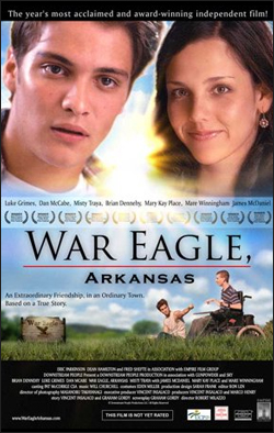 War Eagle Arkansas   Dir. Robert Milazzo Starring: Brian Dennehy, Mary Kay Place, Mare Winningham