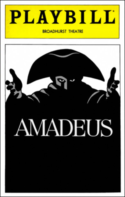 Amadeus   Dir. Sir Peter Hall Producer: Kim Poster, PW Productions, Adam Epstein, Center Theatre Group