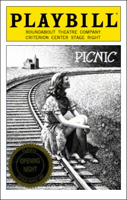 Picnic   Dir. Scott Ellis Producers: Roundabout Theatre Co., Todd Haimes, Gene Feist