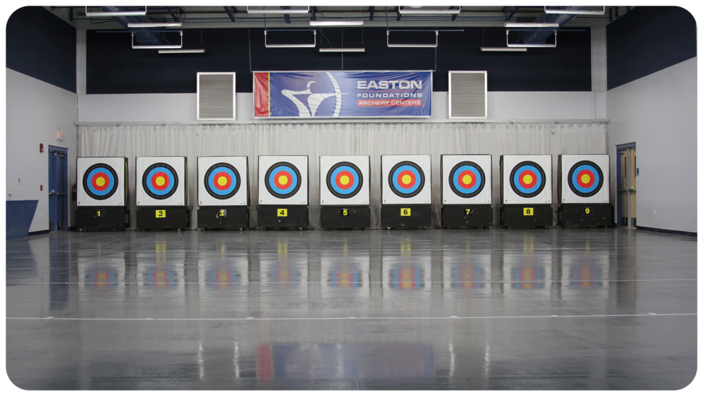 40+ Archery Lanes - FOR LARGE INDOOR EVENTS