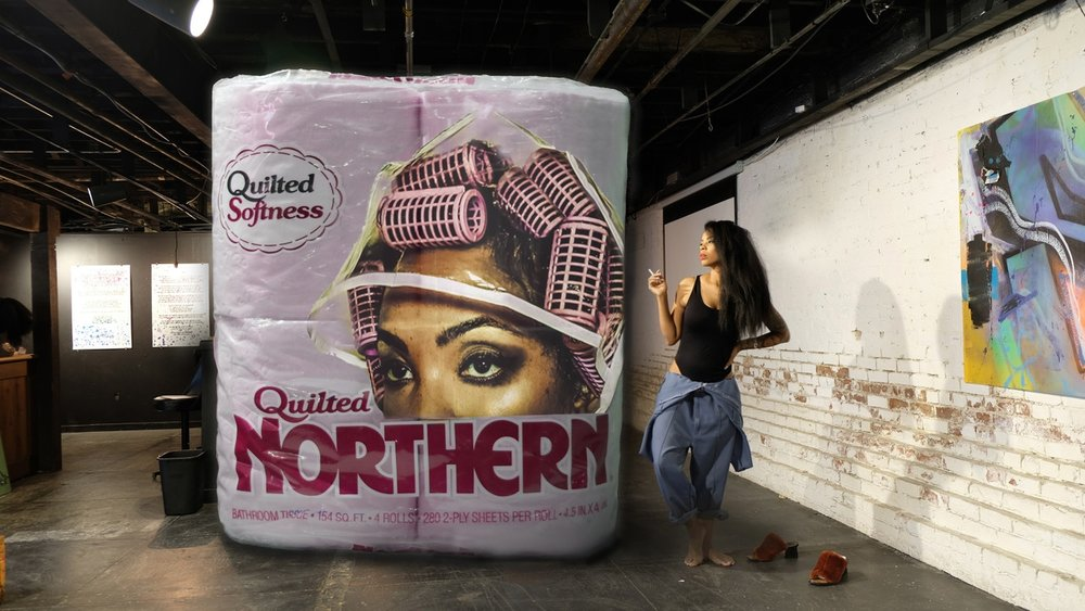 Quilted Northern  by  Tariqa Waters .