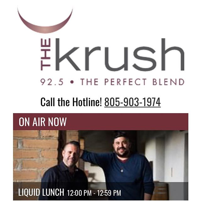 Did you catch our own @missusholliday on @krush925 Liquid Lunch today? Talking @lafetedupink & tasting a couple wines from our wine meet ups! 👏🏼🍷 . . . . #GoHolly! #winetasting #womenandwine #instawine #LiquidLunch #rosé #lafetedupink