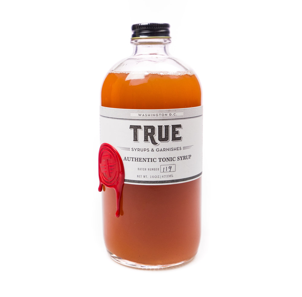 True Syrups & Garnishes