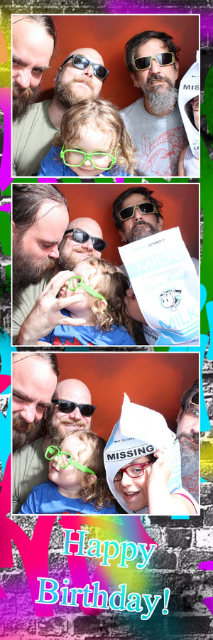momento photo booth family fun