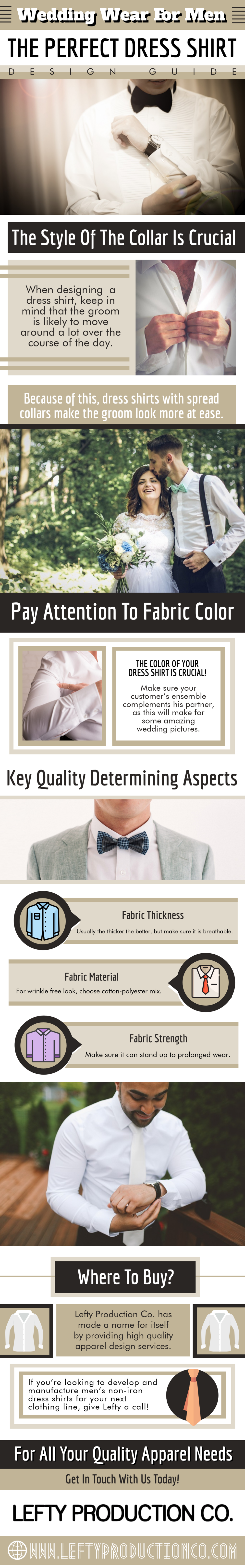 THE PERFECT DRESS SHIRT DESIGN GUIDE