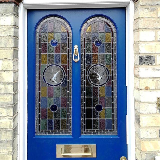 #Cambridgestainedglass #stainedglass #leadedlights