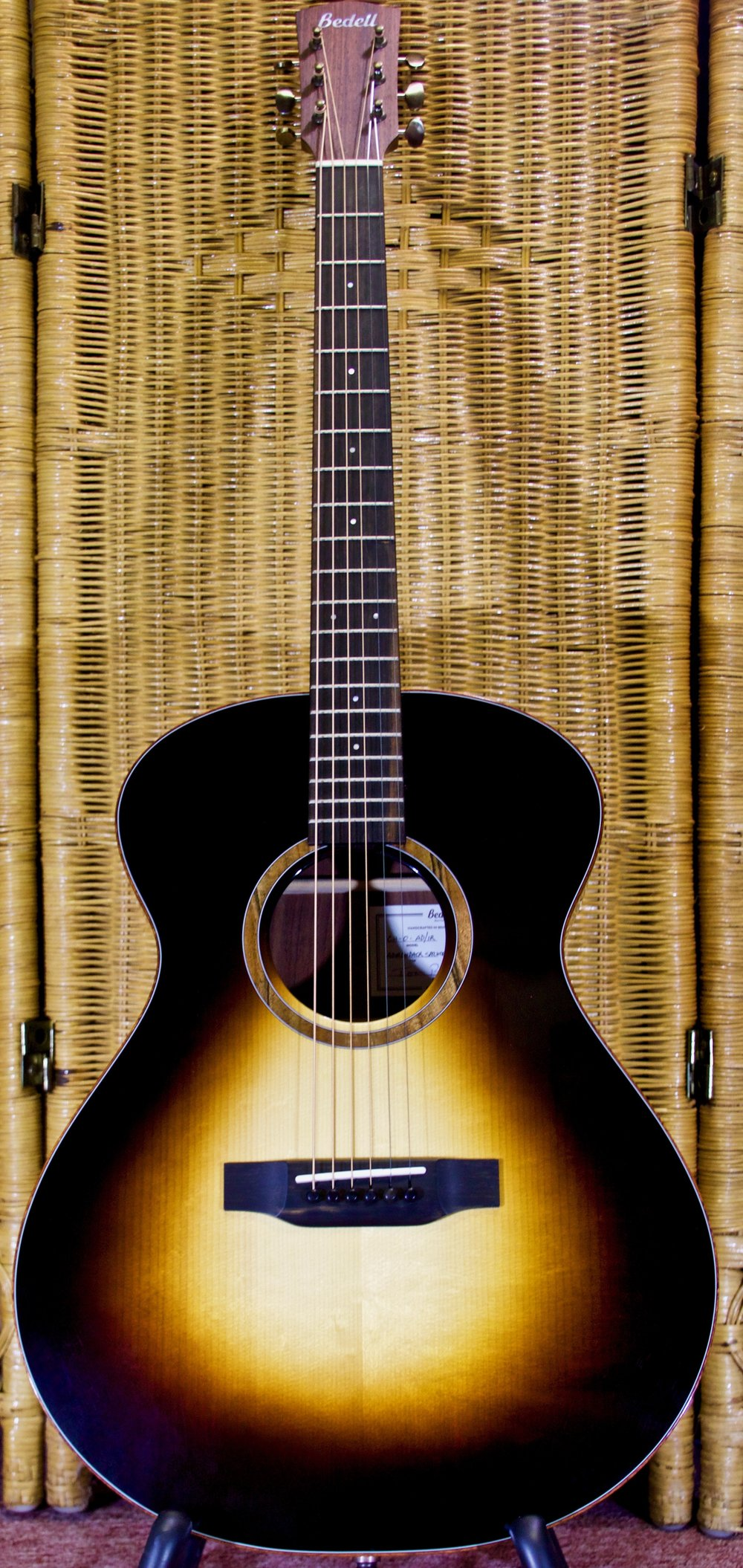 Coffee House Adirondack Spruce, East Indian Rosewood