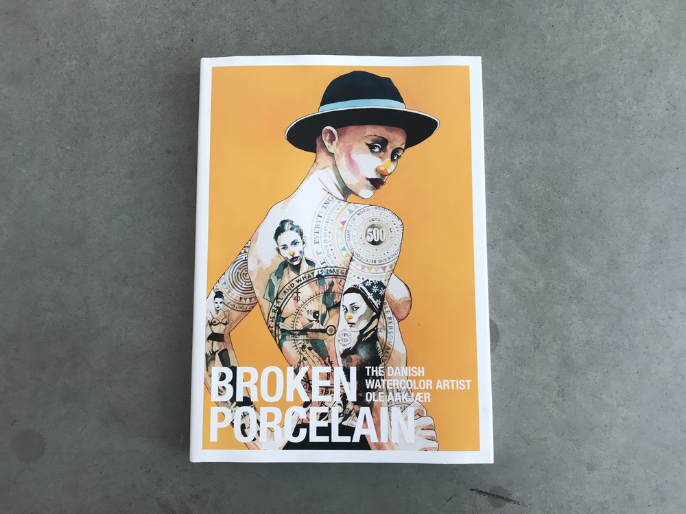 Broken Porcelain - Ole Aakjær Signed Copy | $100