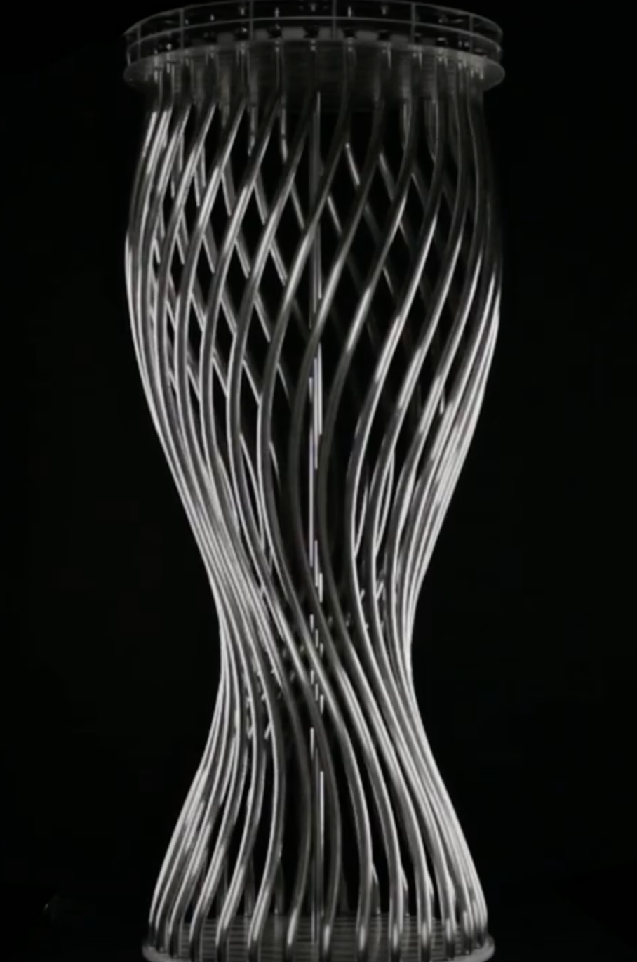 Spiral, 2011. Stainless steel.