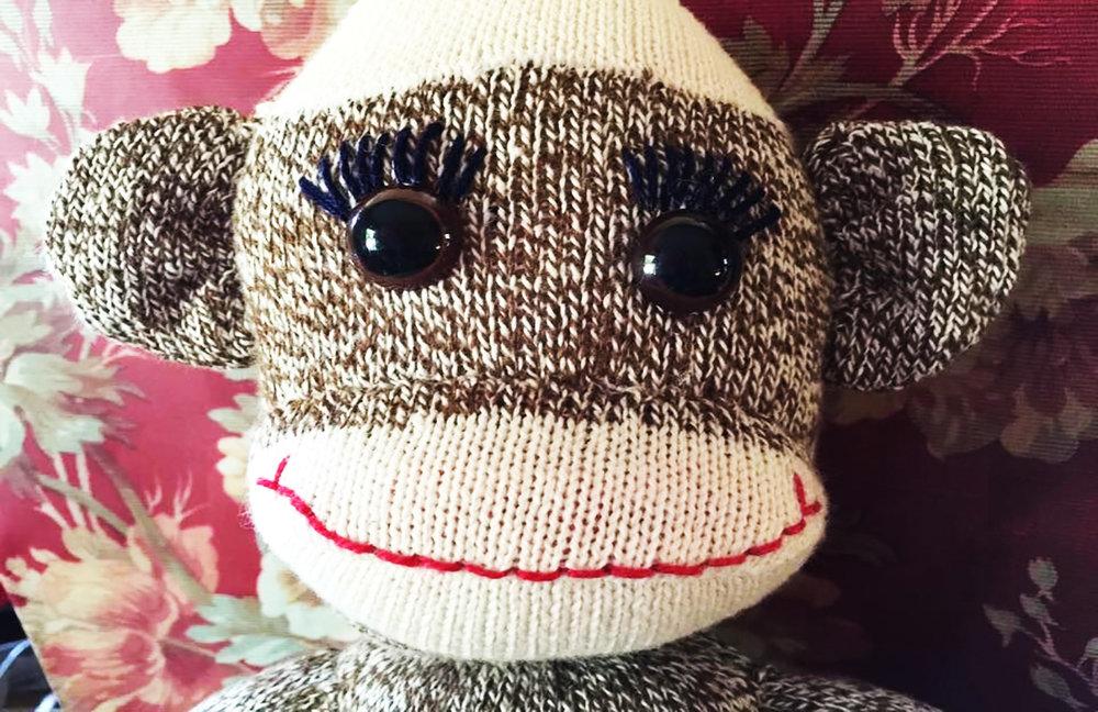 Den Finder Sock Monkey Bellingham Event