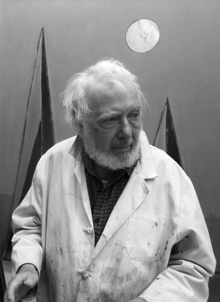 PAUL RESIKA - born 1928, is a lifelong New York City artist. As a young painter, he studied with Hans Hofmann in Provincetown, and has continued painting there during summers throughout his life. He was well known as the chair of the MFA program at Parsons School of Design from 1978-1990. He has been in hundreds of group shows and dozens of solo shows in the city throughout his life. His work is in many major collections, including the Metropolitan Museum of Art, the Whitney Museum, MOMA, and the National Museum of American Art. He was recently featured in the documentary