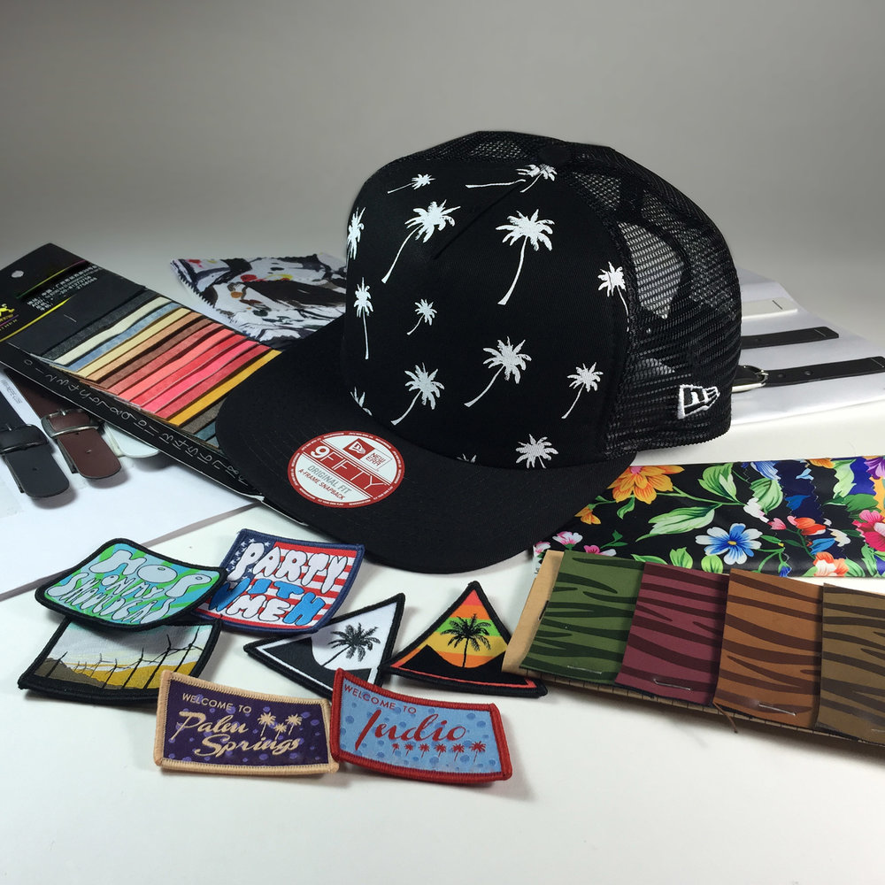 Bespoke - We completed the festival consumer experience by offering a fully bespoke section where you could customize your cap. Every person could add their personal style to the piece and make it their festival piece. Visors, Patches, snapback colors etc. were all customizable.