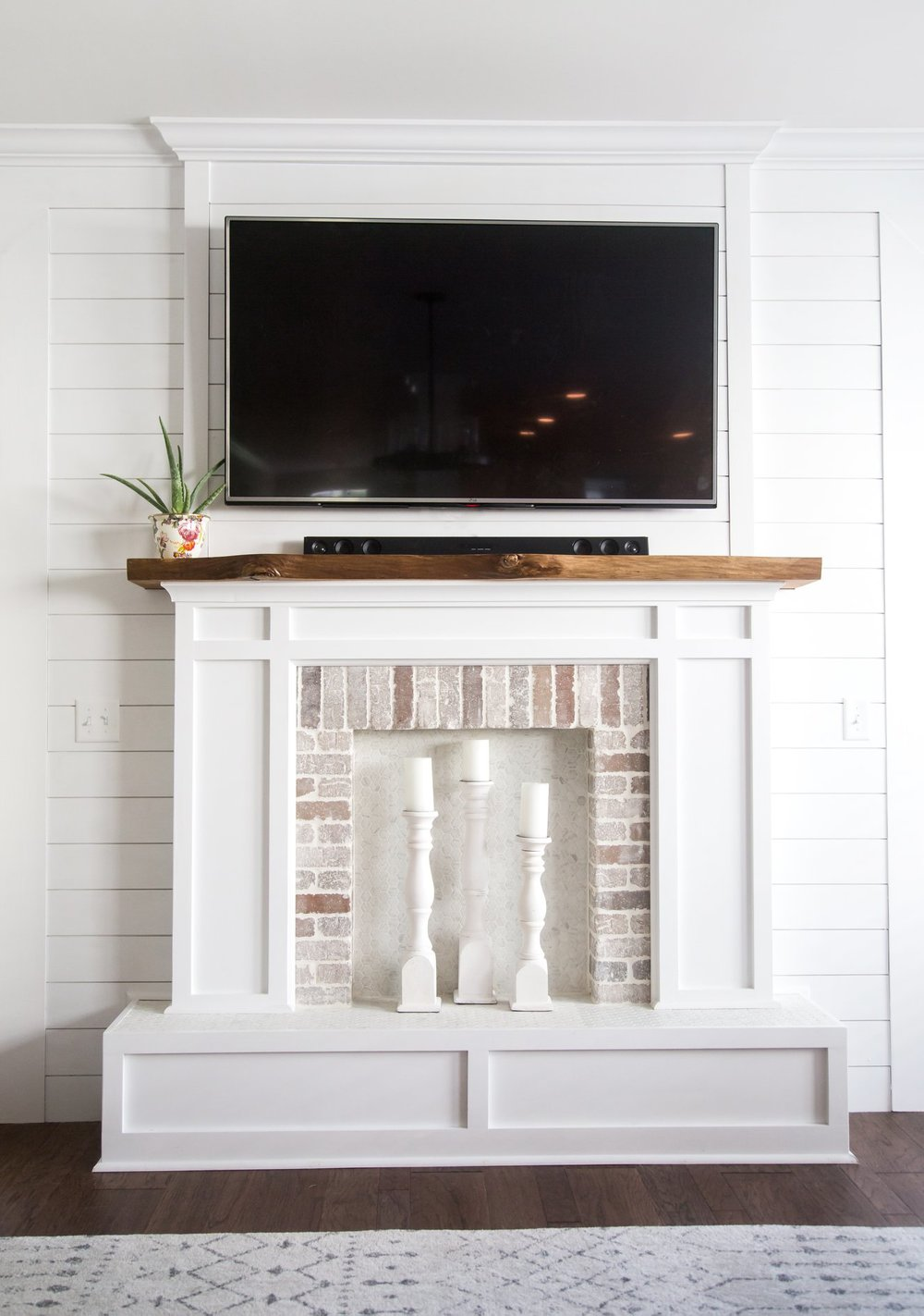 Custom Faux Fireplace