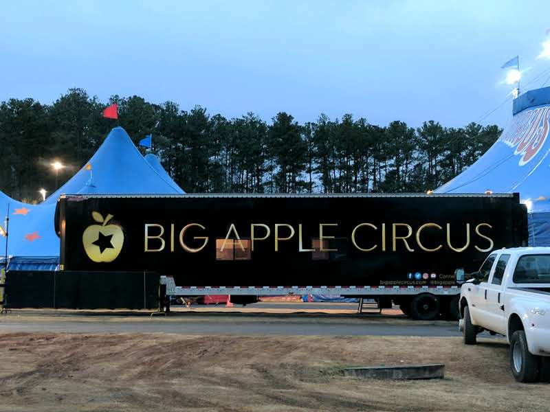 Trip to Big Apple Circus.