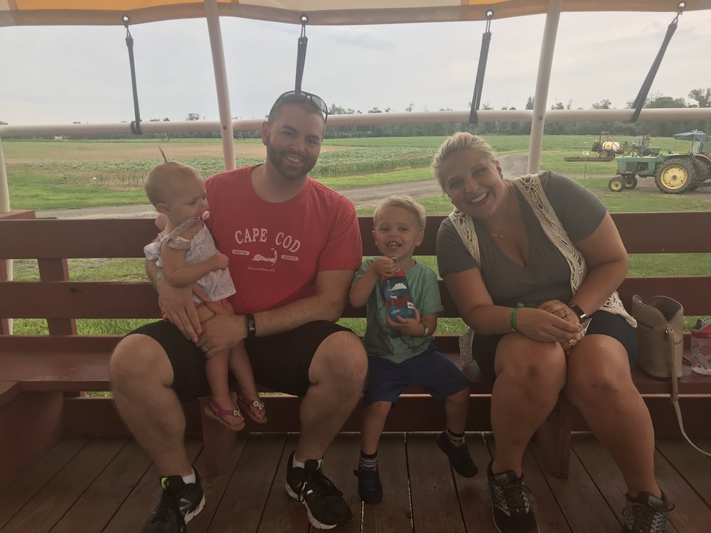 Our first family outing as a family of four! It was a long time coming but so thankful to have made those memories! Check out  Johnson's Farm  if you are ever at Joint Base MDL, NJ!