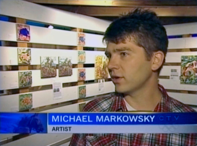 Michael Markowsky on CTV News