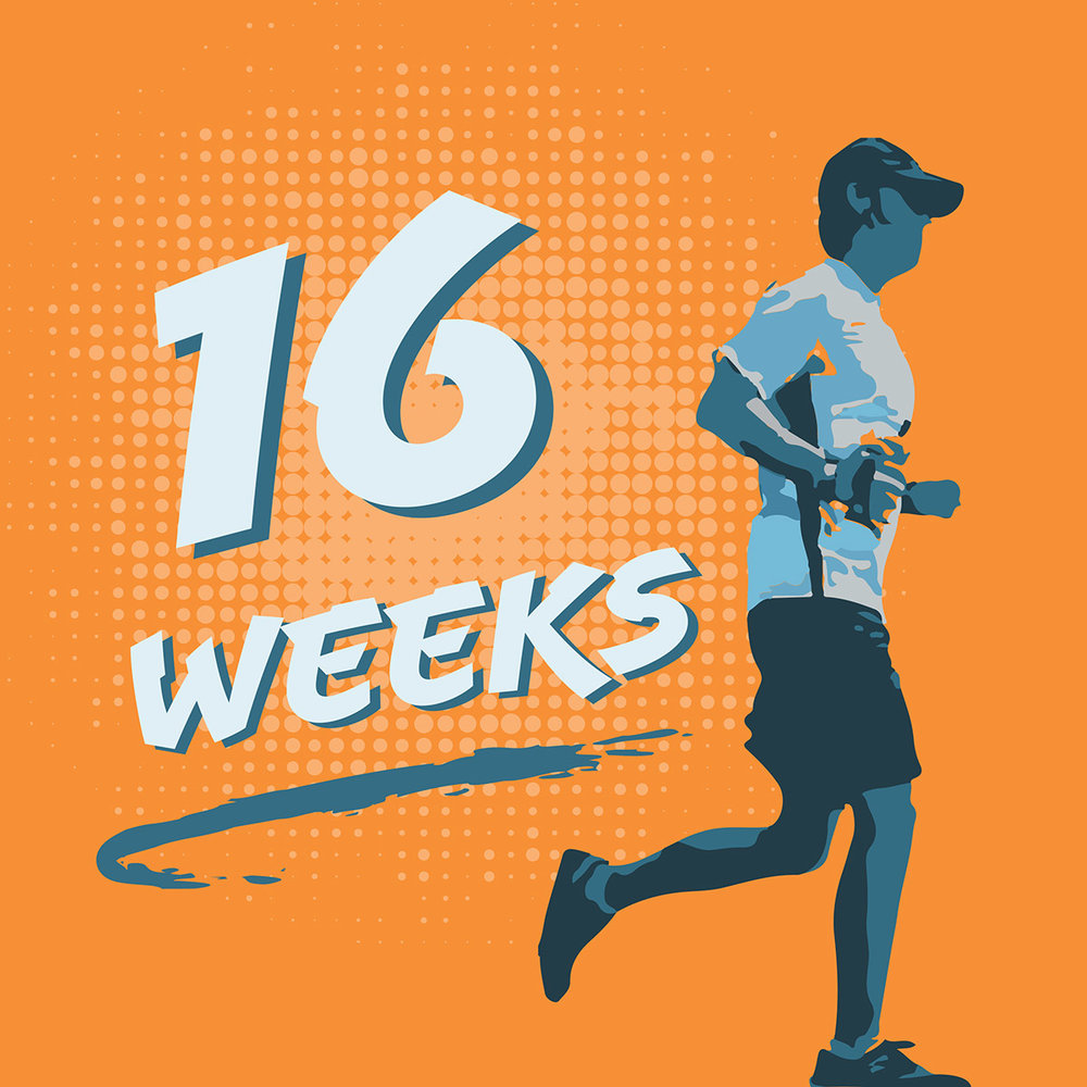 16 Weeks - What happens when a regular guy with family and busy life decides to become healthy? That's what BJ did when he started running. Join him as he trains for the biggest physical challenge of his life. We'll talk about everything runners face with fitness and nutrition experts.