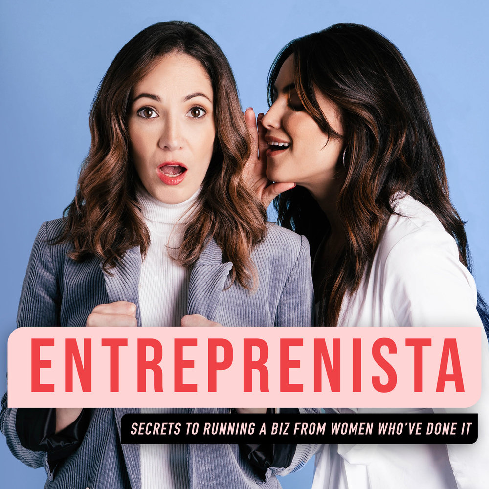Entreprenista - The Entreprenista Podcast is a weekly show featuring the stories of successful female founders and what it's really like to run a business. Hosted by Stephanie Cartin & Courtney Spritzer, co-founders of Socialfly, a leading social media marketing agency, each episode goes beyond what you see on Instagram and into the nitty-gritty of growing and scaling a company effectively from women who've done it. Consider this the most fun business meeting you'll ever have.