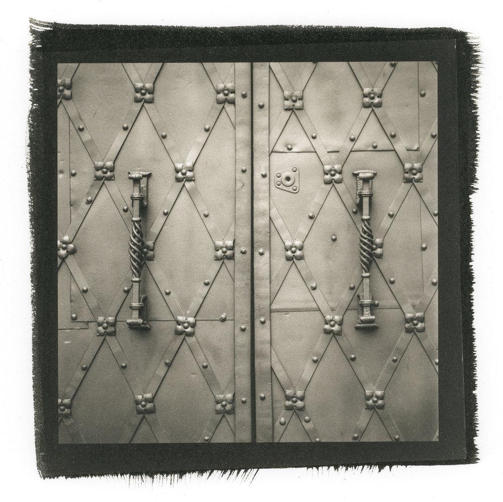 Metal Framed Door