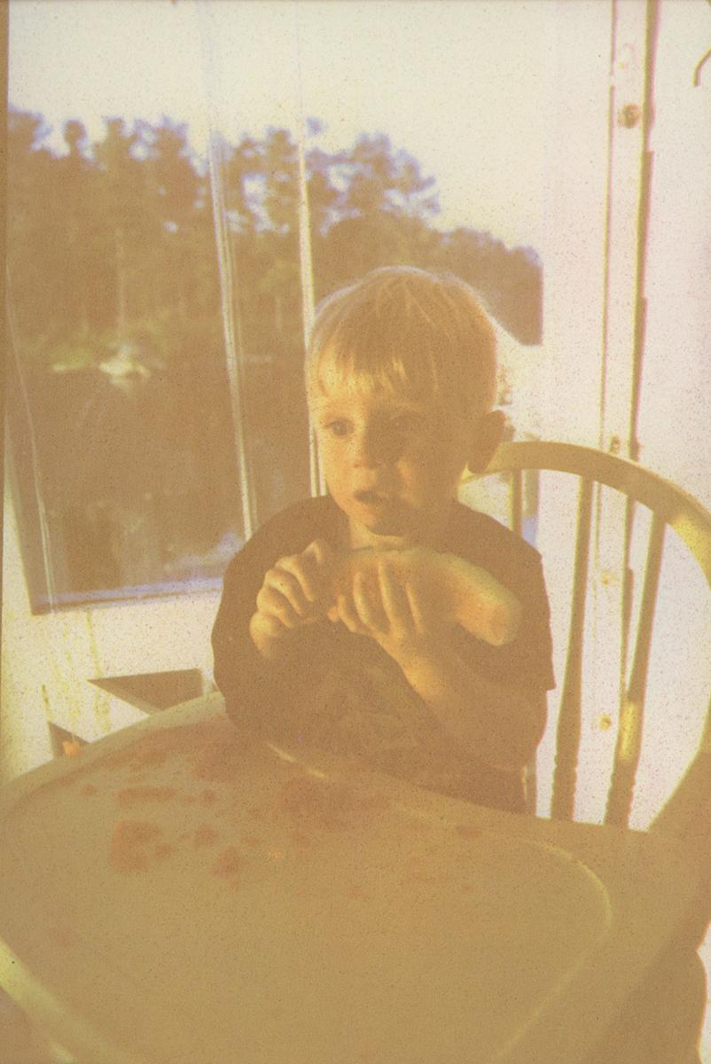 Jesse Eating Watermelon