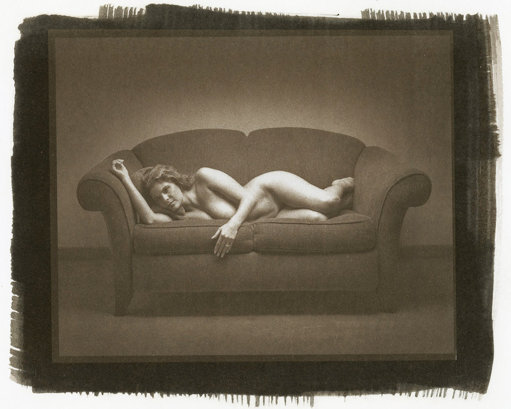 Figure on Couch