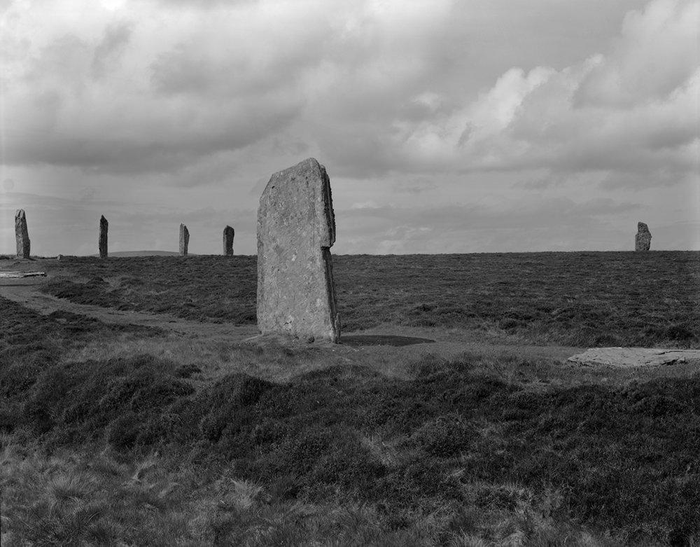 Ring of Brodgar 1981, Orkney Mainland, Orkney Islands, Scotland