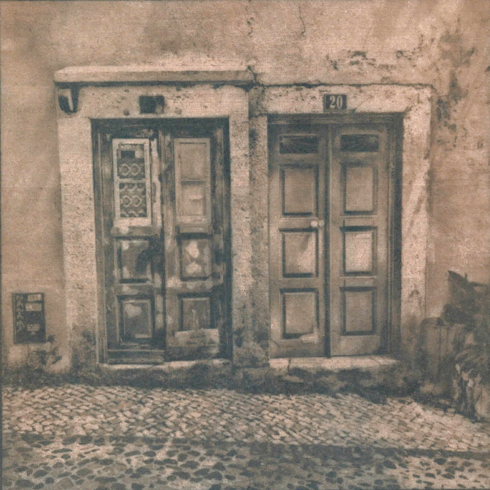 We walk through the streets of Lisbon, stepping on ghosts' footprints four centuries older than Rome