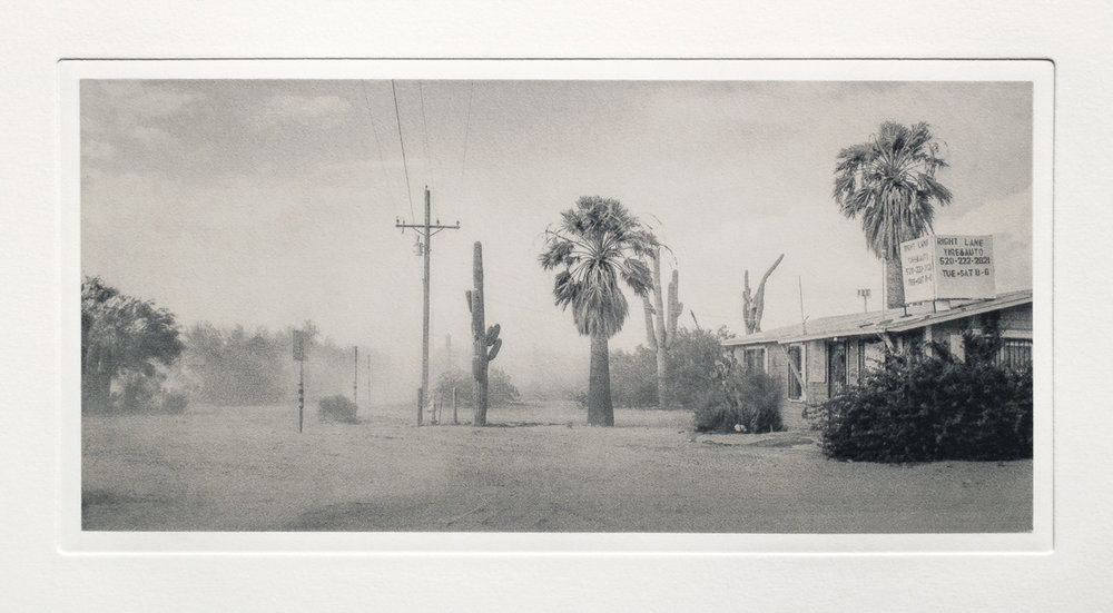 Dust Storm, Near Saguaro National Park, AZ