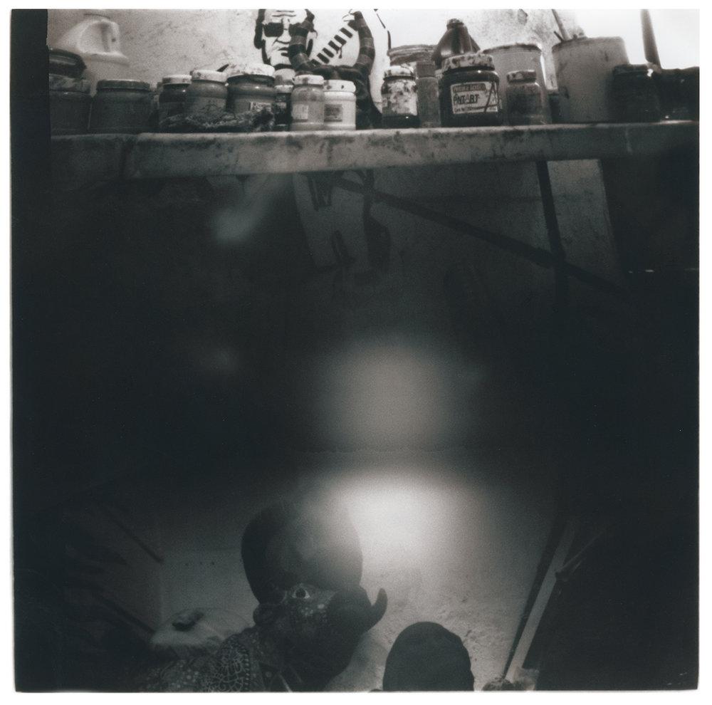 Inside Oaxaca Mask makers' Studio #2