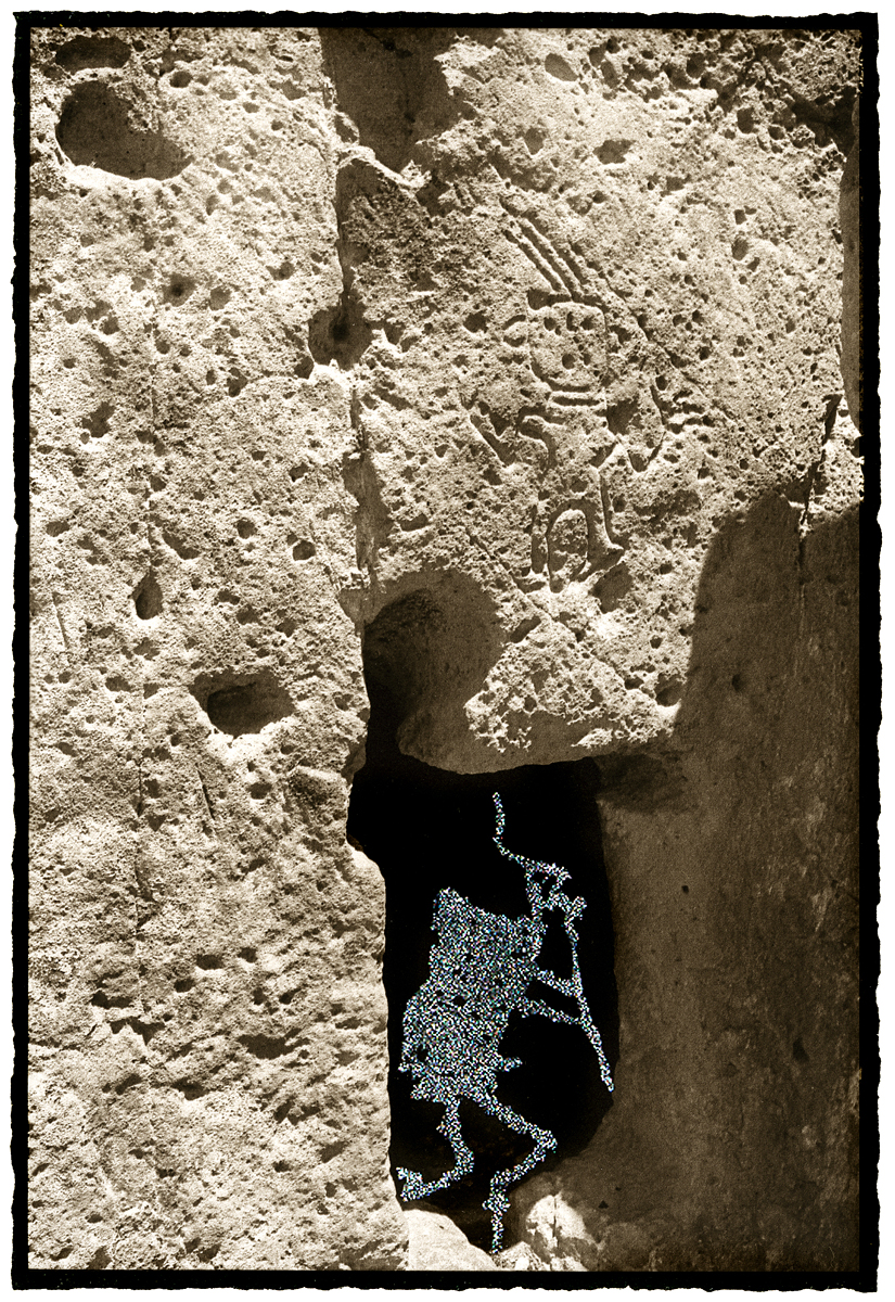 Heralding the Emergence of Spring from the Flute Player Suite Petroglyph Series