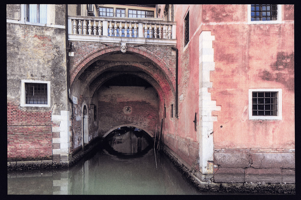 Canal Tunnel, Venice, Italy, 2018