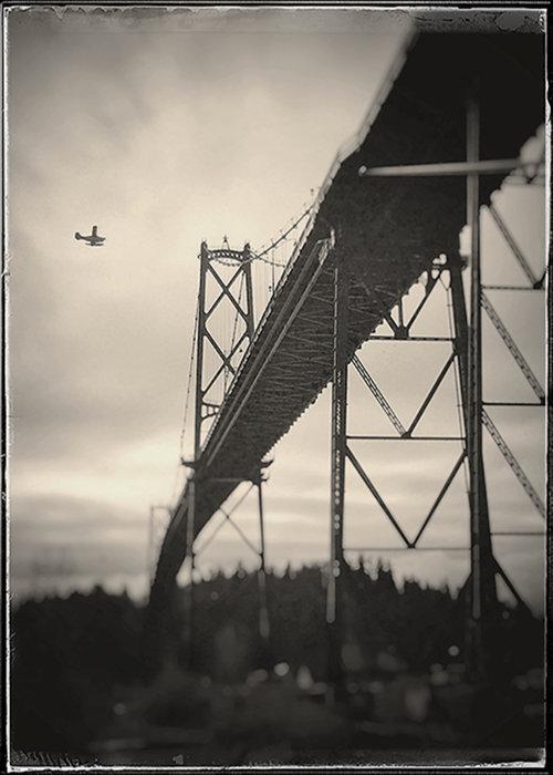 Flight over First Narrows