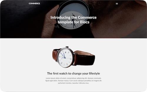 Commerce   Simple online shopping website