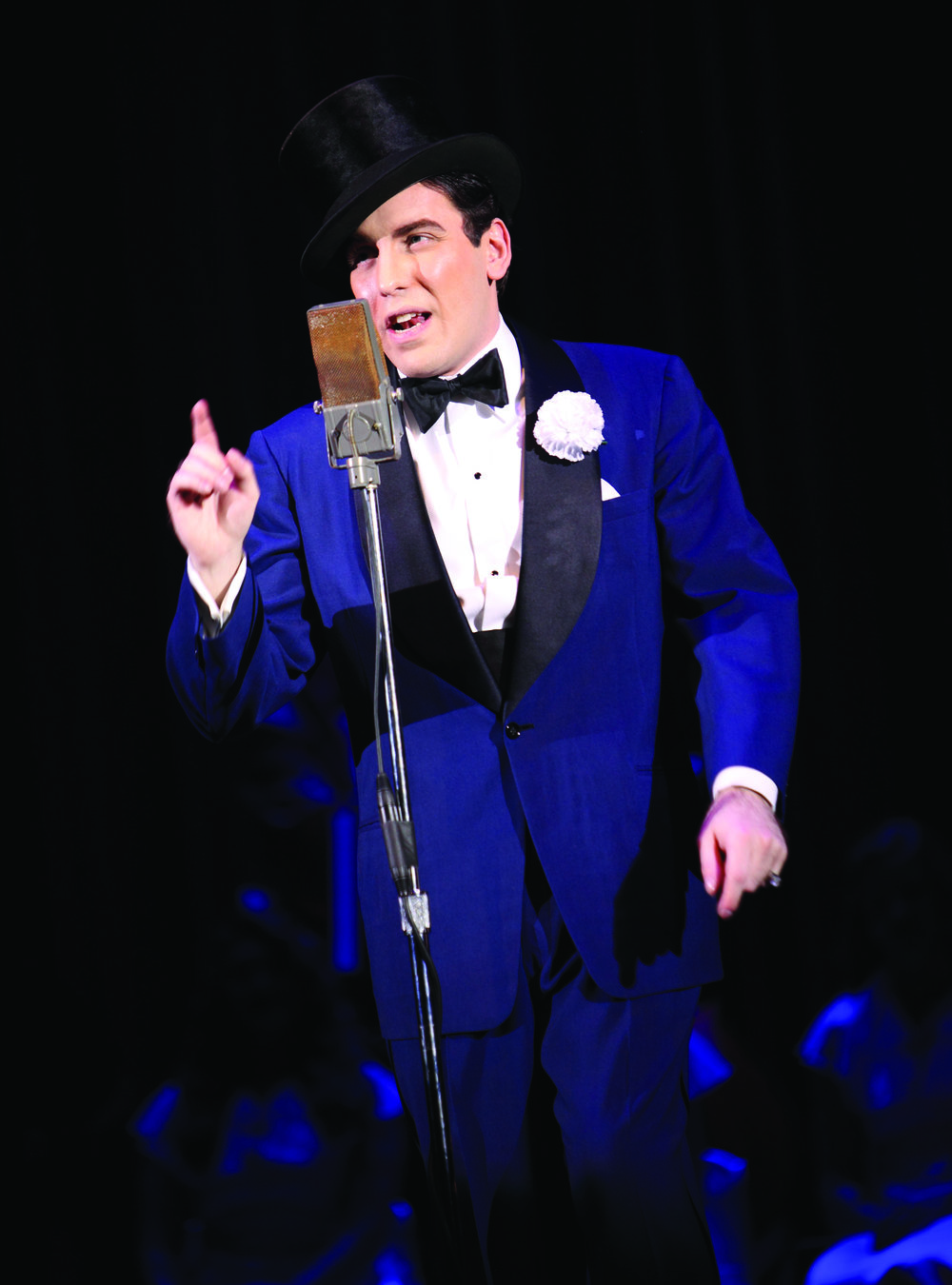 Joseph Rubin as Ted Lewis