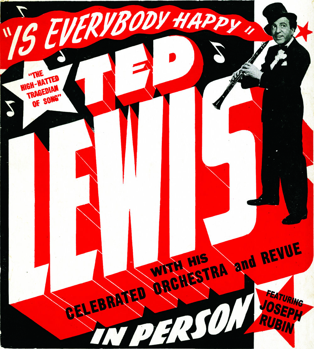 Ted Lewis Orchestra Poster