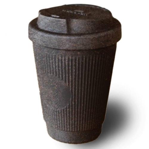 Coffee mug from coffee grounds 😍