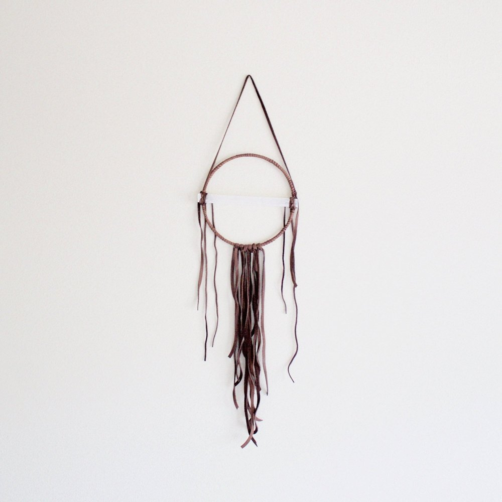 SELENITE DREAM CATCHER -