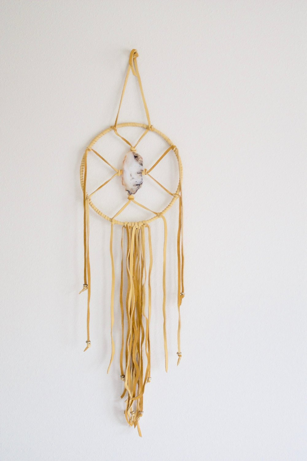 OREGON AGATE DREAMCATCHER -
