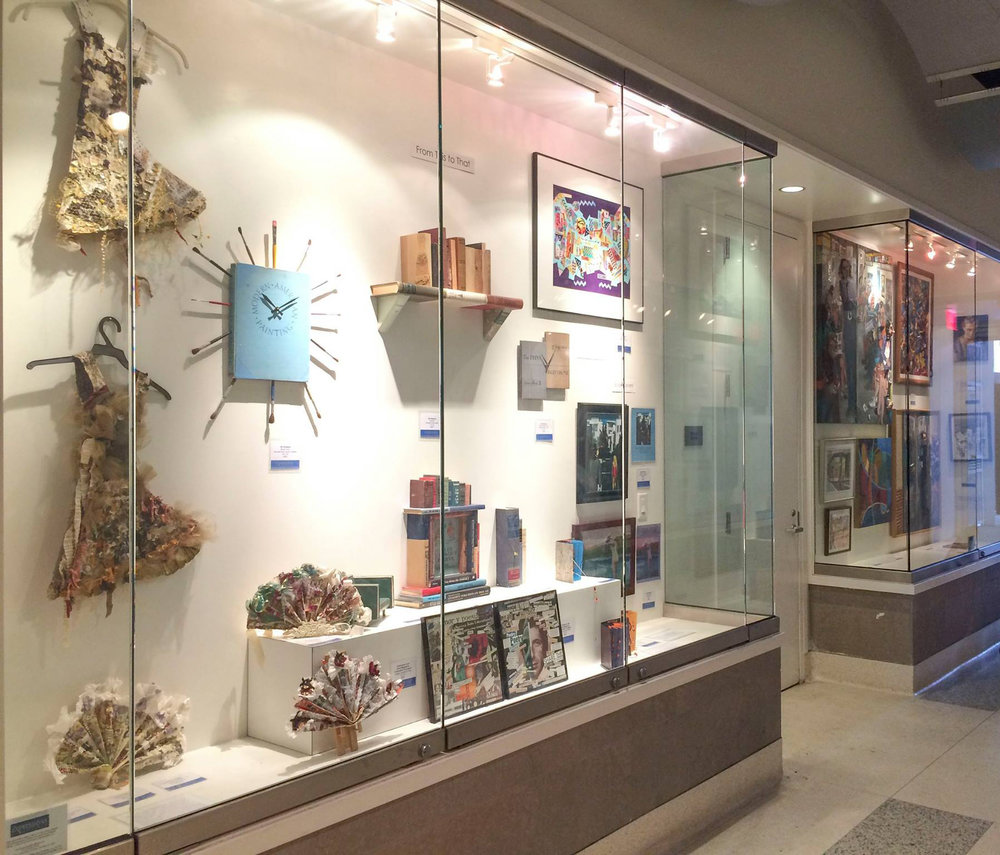 Some gorgeous work from a past show at our space in the Berkeley Central Arts Passage.