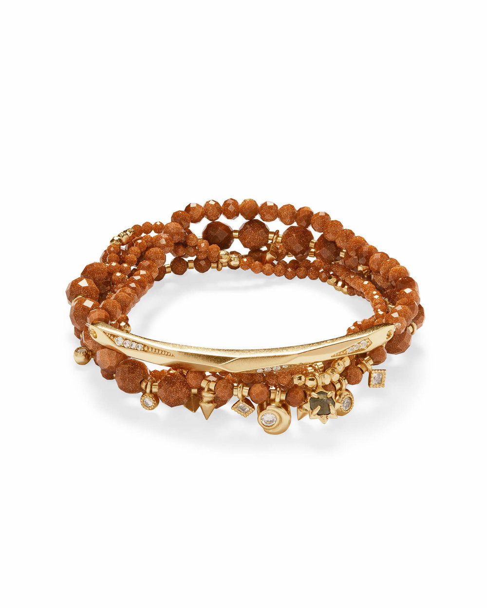 Supak Gold</br>Beaded Bracelet</br><i>$95.00</i>