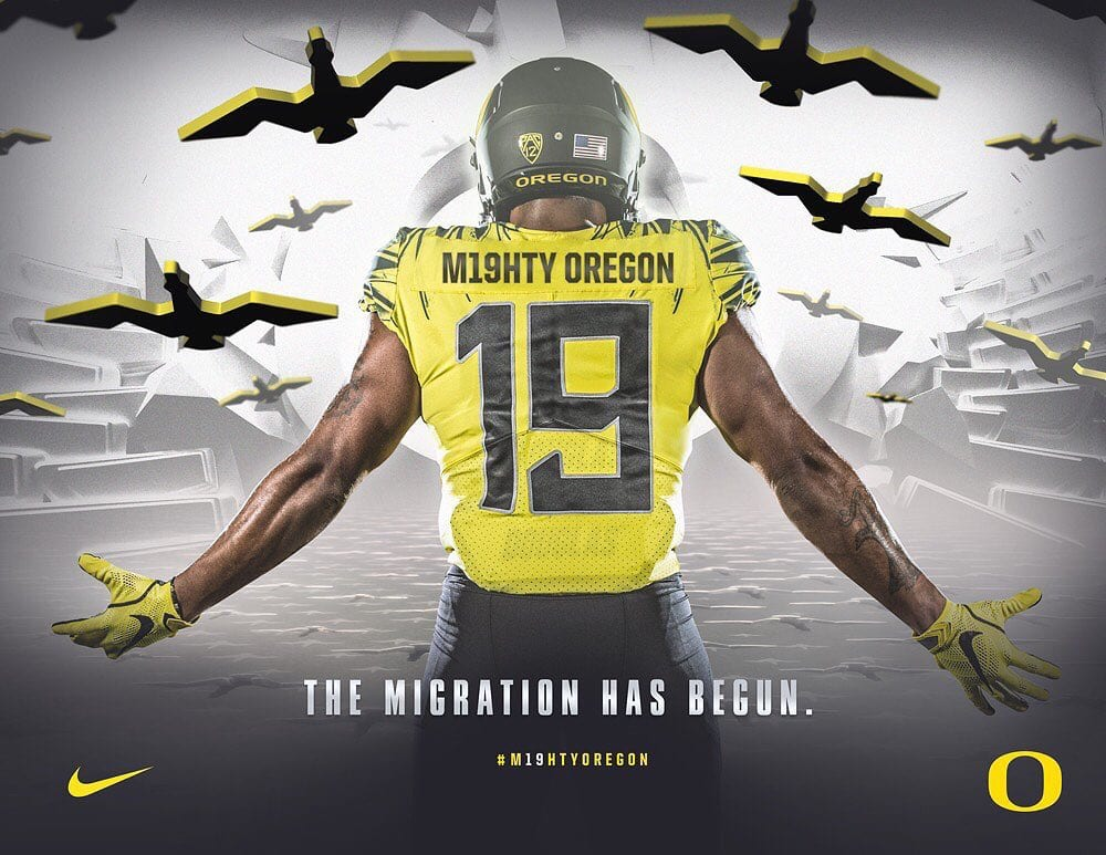Photo courtesy of Oregon Athletics.