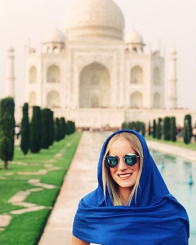 "Welcome back to #PRSSAbroad! Today we're highlighting Jillian Niedermeyer, a senior studying public relations and a past Events Committee member for UO PRSSA. After visiting 11 countries with @semesteratsea last fall, Jill has returned to finish her senior year with the SOJC Honors Program and participate in the 2019 Bateman Competition. While abroad, Jill said her favorite countries were Ghana and Myanmar because of how different the cultures each were from her own. Jill said she encountered ""such wonderful and inviting people"" who wanted to teach her about their culture and ""our wonderful world."" Since her ship did not have Wi-Fi, Jill enjoyed playing games with her peers and genuinely getting to know each other without screen distractions. We can't wait to see where Jill travels next!"