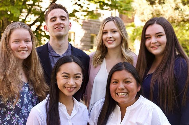Let's hear it for our 2019-20 Executive Board! 👏🏻 We look forward to another wonderful year with this team of leaders:  President - @miabennett_  Vice President - @thekyrira  Programming Director - @madileeeen  Communications Director - @arianaa__20  Finance Director - @konnormac  Events Director - @mo_rayburn