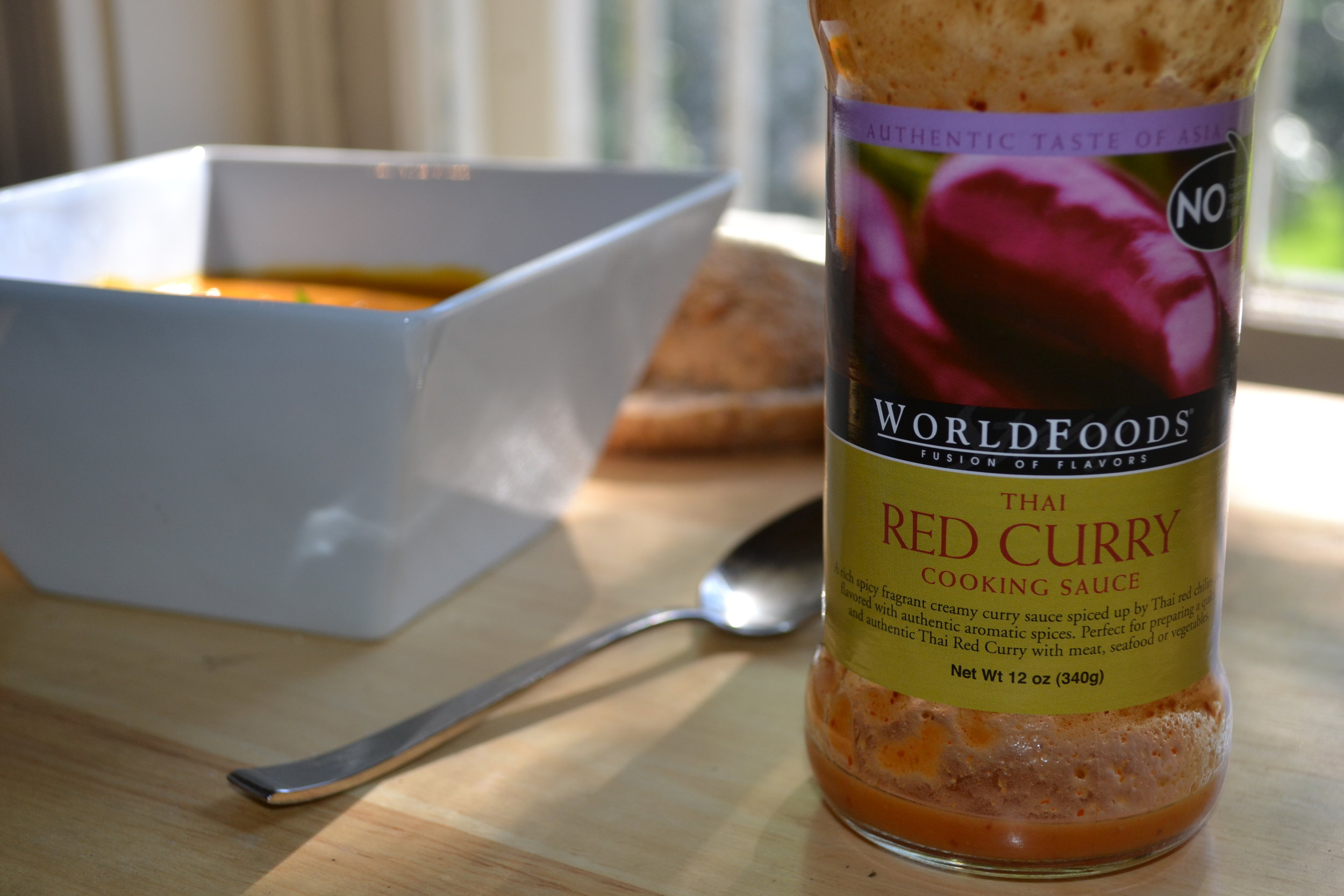 WorldFoods Thai Red Curry Sauce