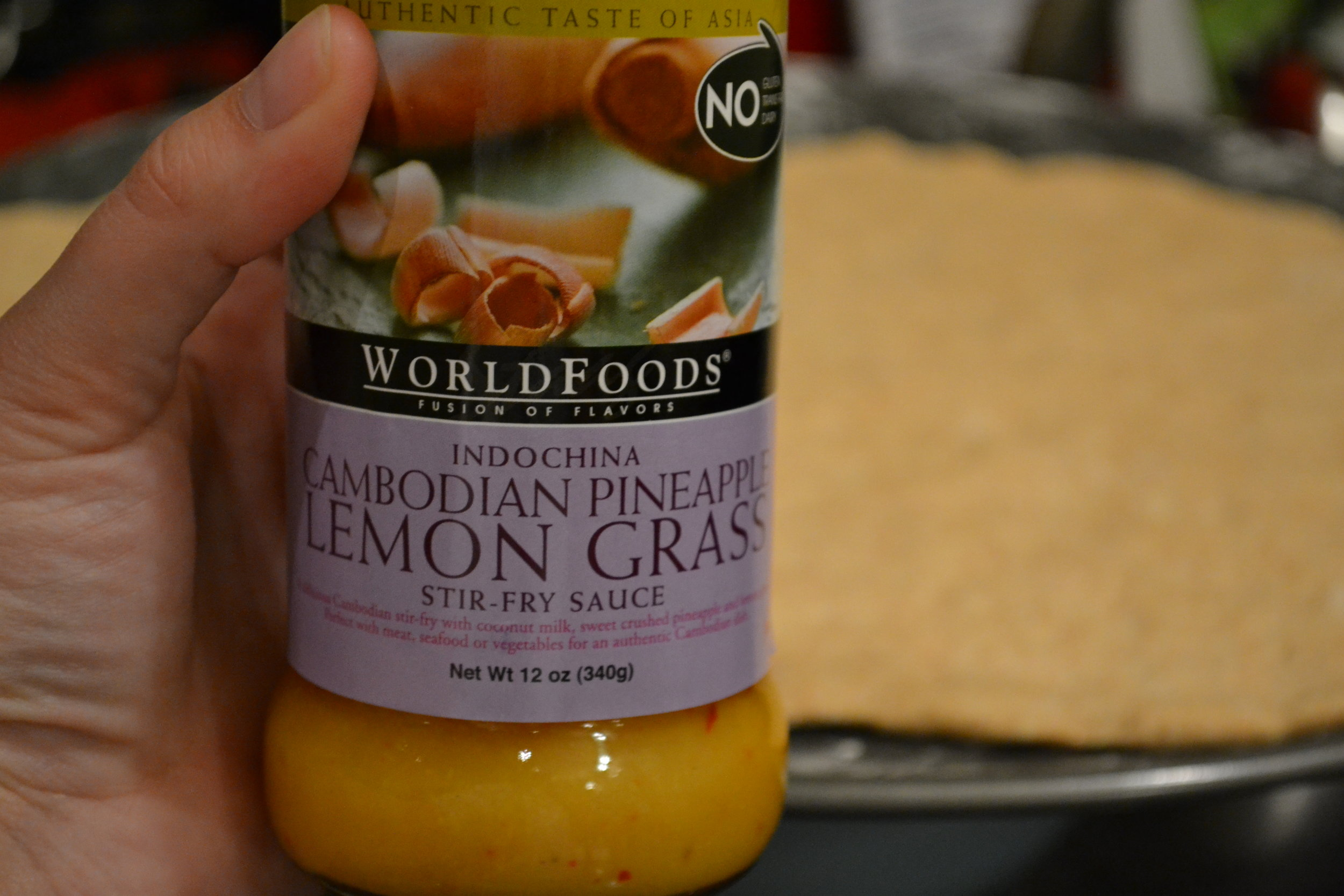 WorldFoods Pineapple Lemon Grass Sauce