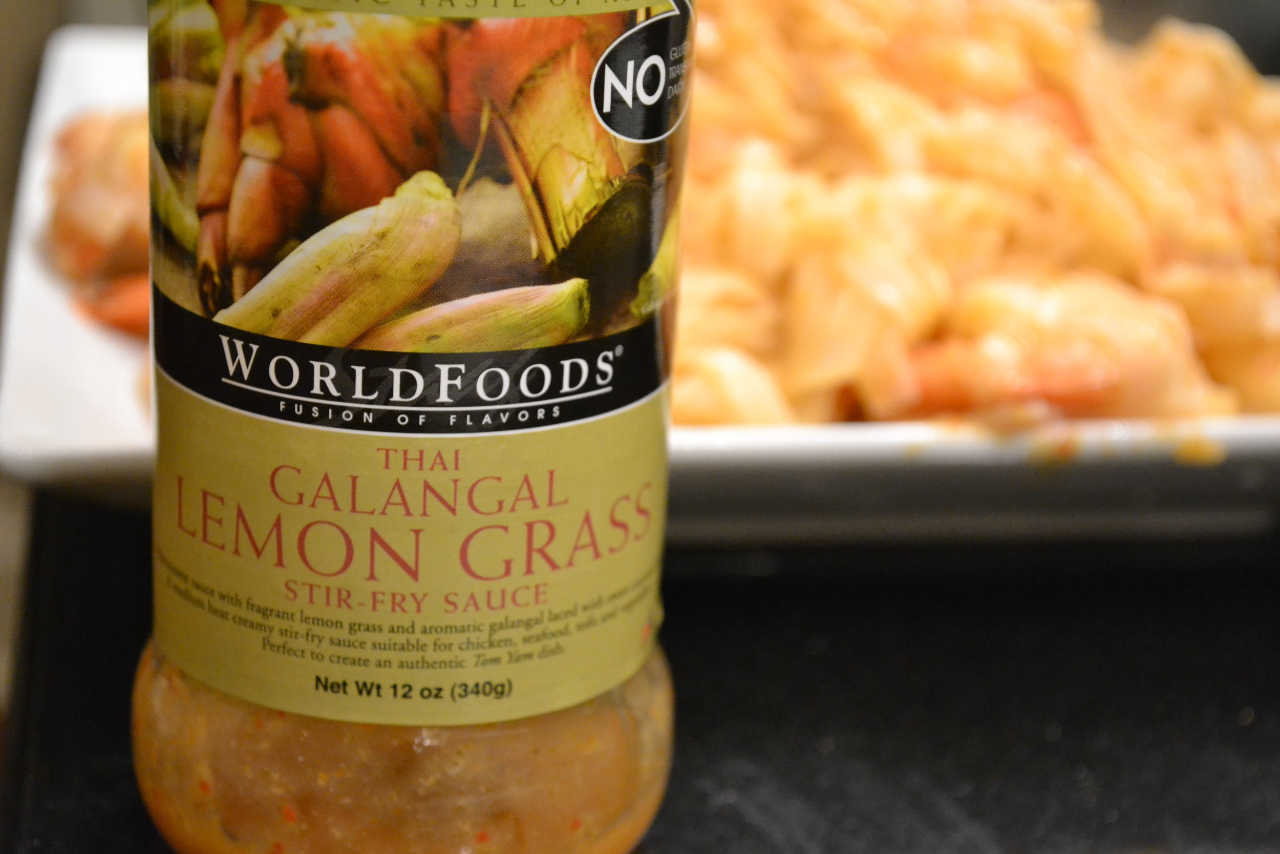WorldFoods Galangal Lemon Grass Sauce