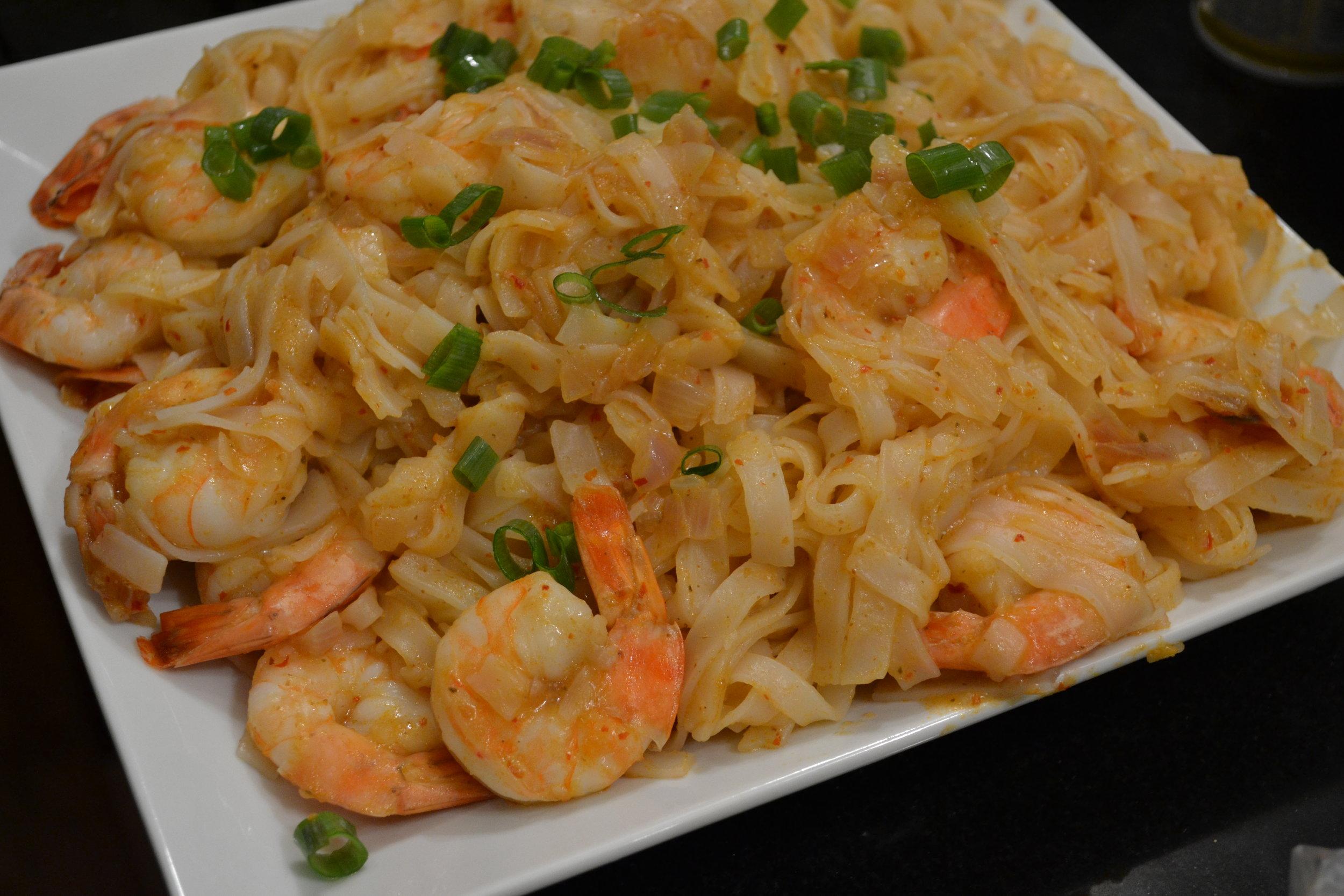 Lemon Grass Shrimp & Noodles