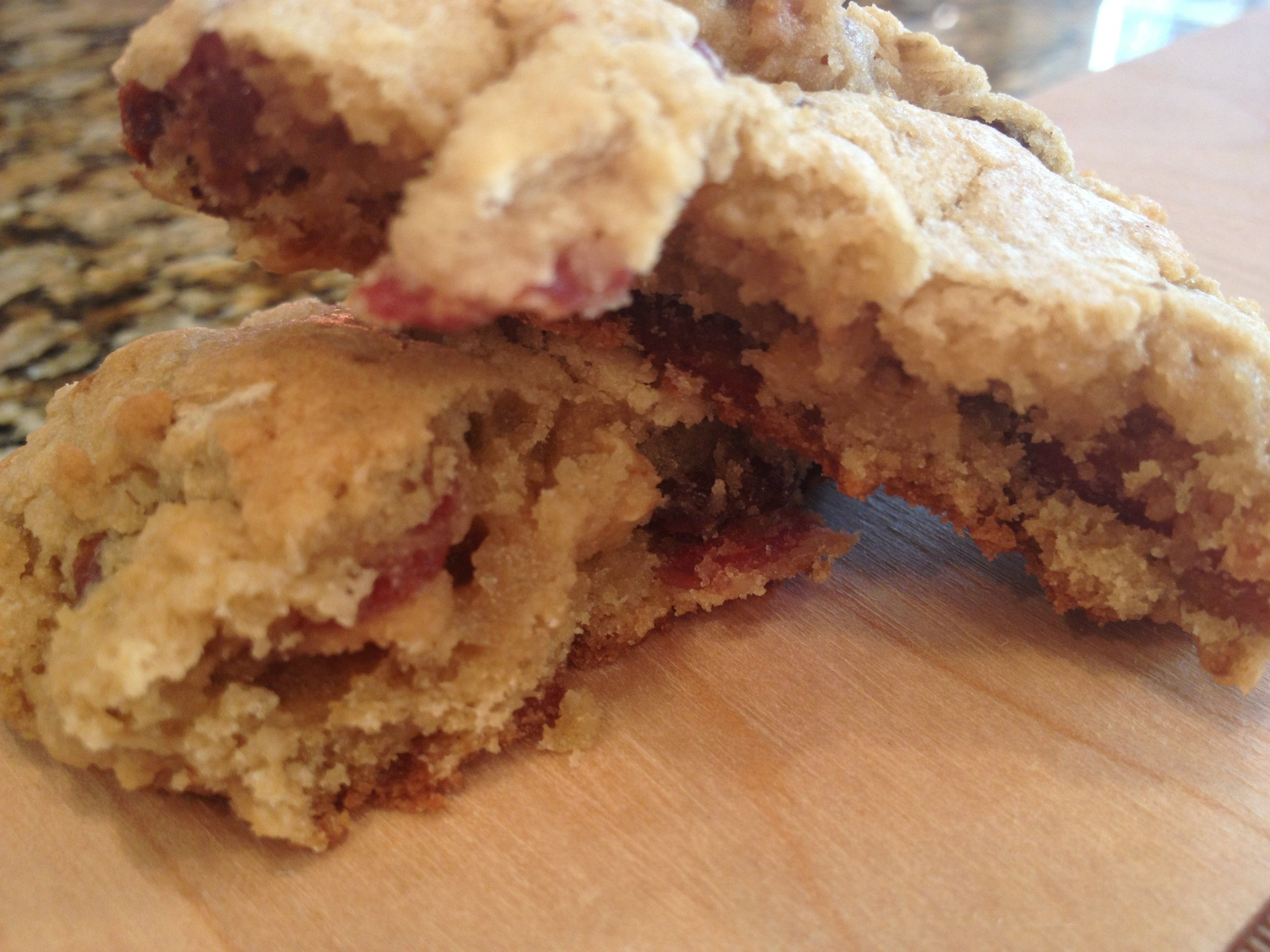 Oatmeal Bacon Raisin Cookies