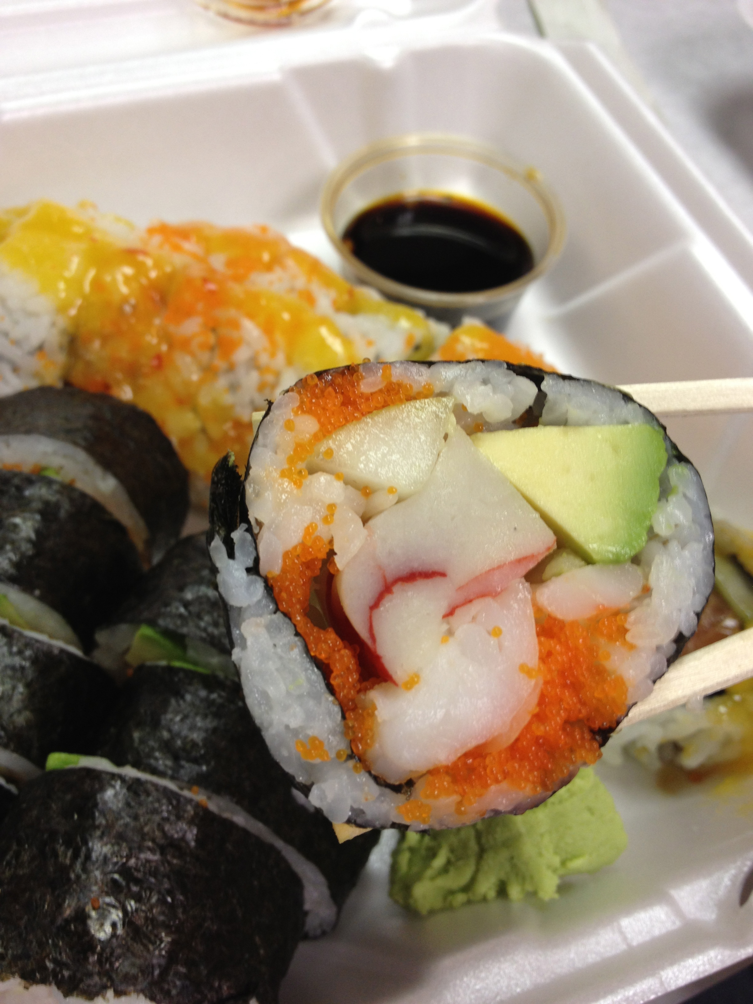 Andy's Sushi Bar Pittsburgh Roll Piece